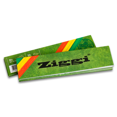 Cigaretové papieriky Ziggi Classic Slim Konopné King size s filtrami