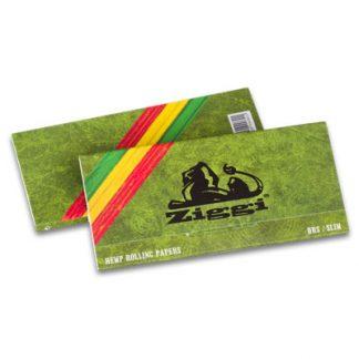 Cigaretové papieriky Ziggi URS Slim Konopné King size s filtrami