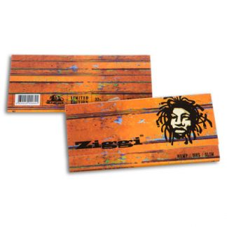 Cigaretové papieriky Ziggi URS Slim Konopné Rasta King size s filtrami