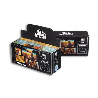Cigaretové papieriky Ziggi URS Slim Ultra thin Africa King size s filtrami krabica