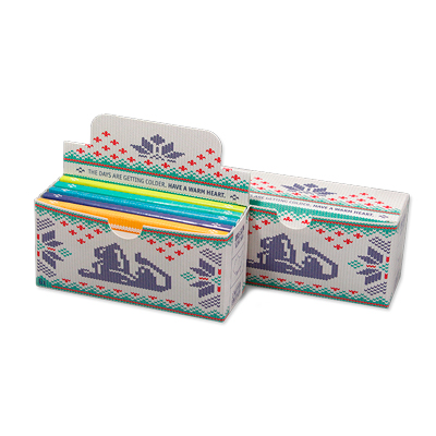 Cigaretové papieriky Ziggi URS Slim Ultra thin Cosy postcard King size s filtrami krabica