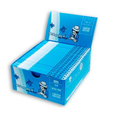 Cigaretové papieriky Ziggi URS Slim Ultra thin Pre mužov King size s filtrami krabica