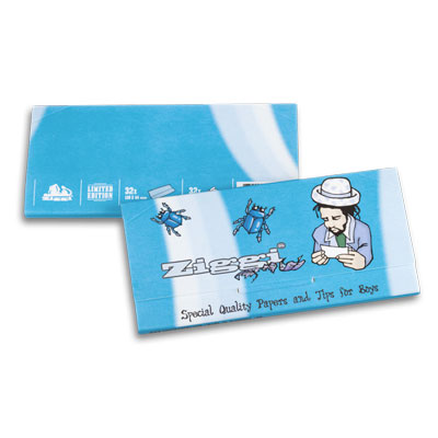 Cigaretové papieriky Ziggi URS Slim Ultra thin Pre mužov King size s filtrami