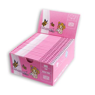 Cigaretové papieriky Ziggi URS Slim Ultra thin Pre ženy King size s filtrami krabica