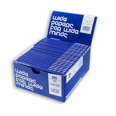 Cigaretové papieriky Ziggi URS Wide Ultra thin WPWM King size s filtrami krabica